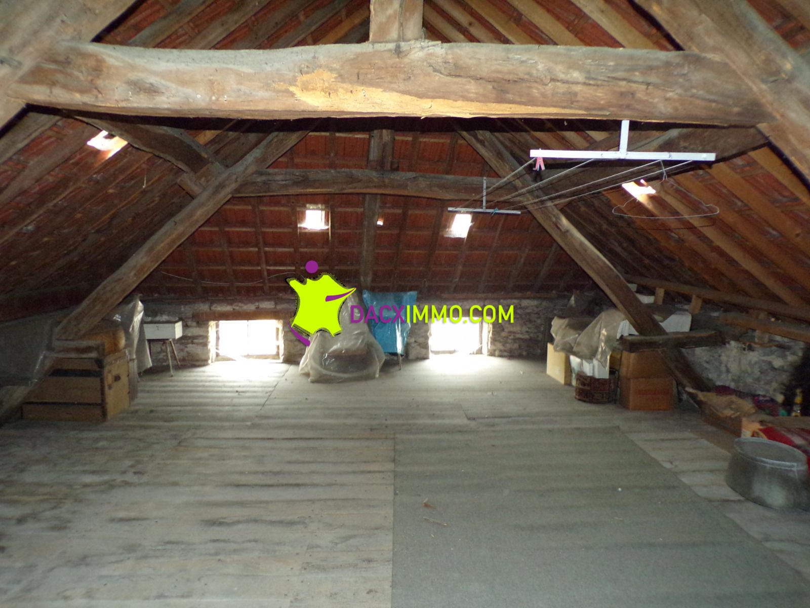 Vente maison avec grenier am nageable for Agrandissement maison grenier